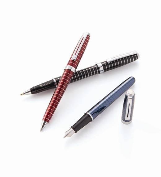 9163 BP Długopis Sheaffer Prelude, niebieski, wykończenia chromowane