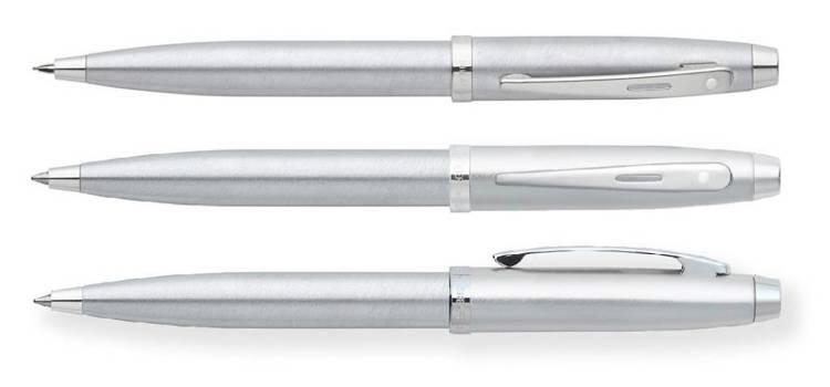 9306 SET Zestaw (długopis i ołówek automatyczny) Sheaffer kolekcja 100, chrom, wykończenia chromowane