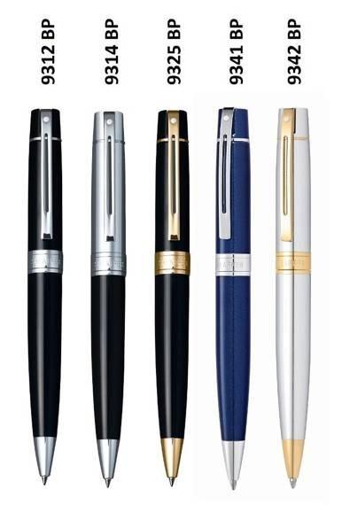 9341 BP Długopis Sheaffer kolekcja 300, niebieski, wykończenia chromowane