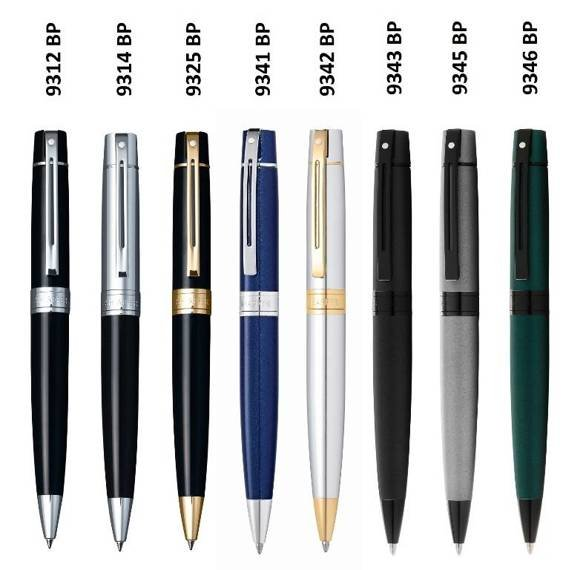 9346 Długopis Sheaffer kolekcja 300, zielony, elementy czarne