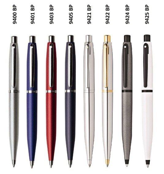 9400 BP Długopis Sheaffer VFM, srebrny, wykończenia niklowane
