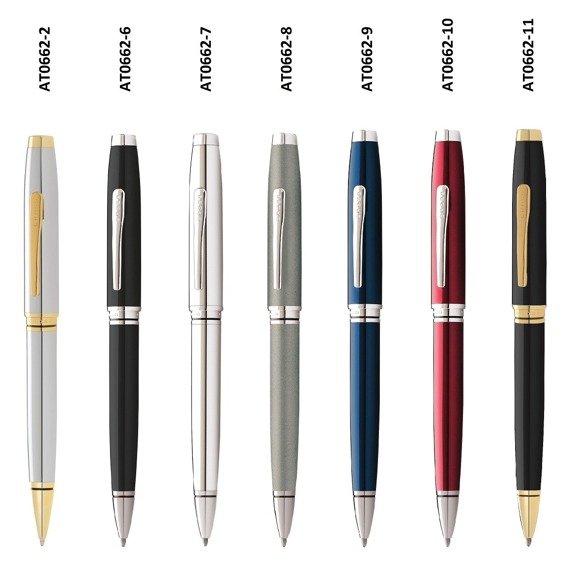 Długopis Cross Coventry szary, elementy chromowane