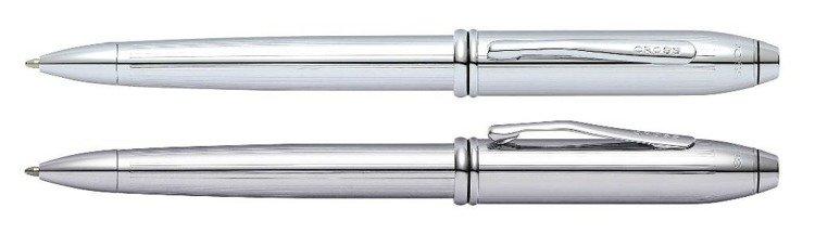 Długopis Cross Townsend korpus i elementy chromowane