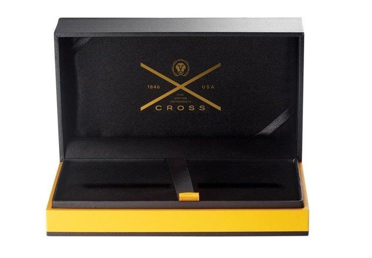 Długopis Cross Townsend pokryty 10k złotem, elementy platerowane 23k złotem
