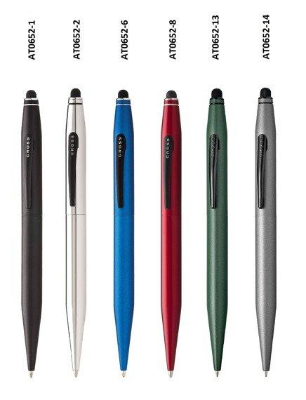 Długopis ze stylusem Cross Tech2 niebieski, elementy czarne