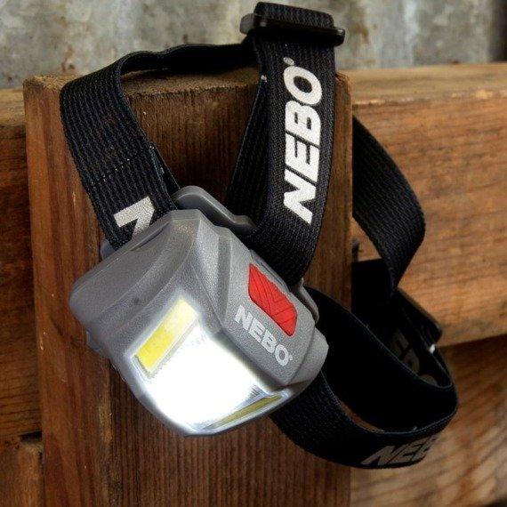 NEBO Latarka-czołówka DUO 250 lumenów