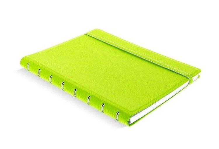 Notebook fILOFAX CLASSIC A5 blok w linie, limonkowy