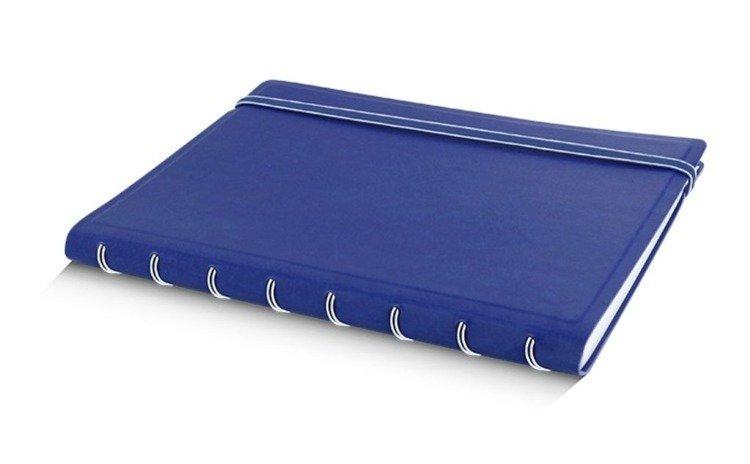 Notebook fILOFAX CLASSIC A5 blok w linie, niebieski