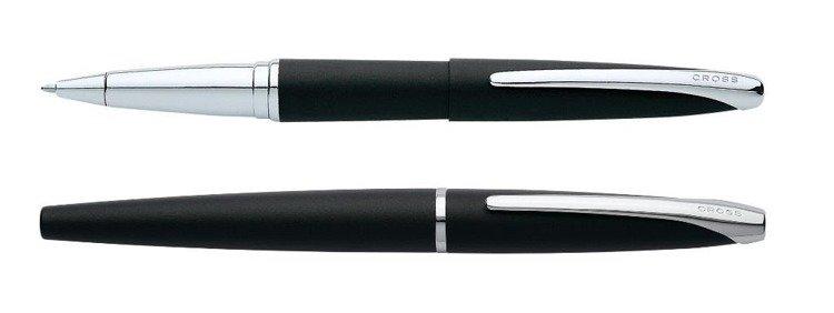 Pióro kulkowe Cross ATX czarne matowe, elementy chromowane